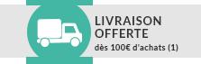 Livraison offerte dès 100€ d'achat